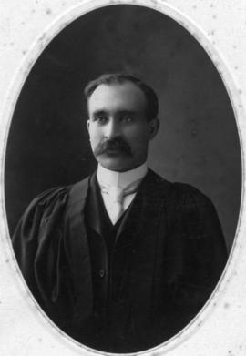 Photograph of Rev. John Archibald MacLellan : Class of 1906