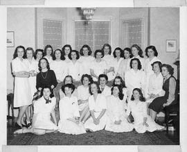 Photograph of Shirreff Hall residents