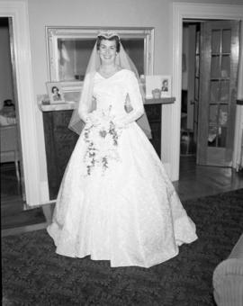 Photograph of Mrs. Bennett on her wedding day