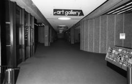 Photograph of a hallway in the Dalhousie Arts Centre