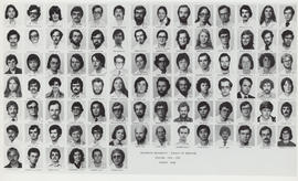 Composite photograph of the Faculty of Medicine - Fourth Year Class, 1976-1977