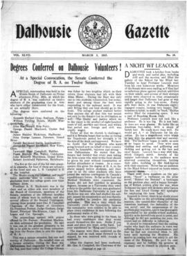 The Dalhousie Gazette, Volume 47, Issue 10