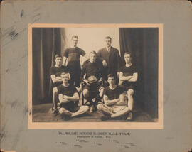 Photograph of Dalhousie Senior Basket Ball Team