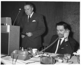 Photograph of unidentified Island Telephone employees