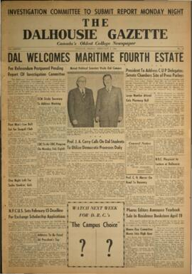 The Dalhousie Gazette, Volume 86, Issue 14