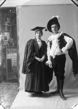 Photograph of Mr.Brine and Mrs.  H. K  Brine