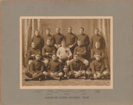 Photograph of the Dalhousie Junior Football team 1909