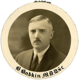 Portrait of Boris Babkin