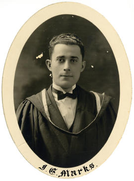 Portrait of Irving Edward Marks : Class of 1926