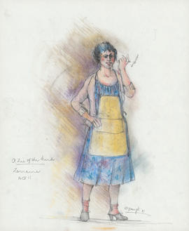 Costume design for Lorraine : Act II