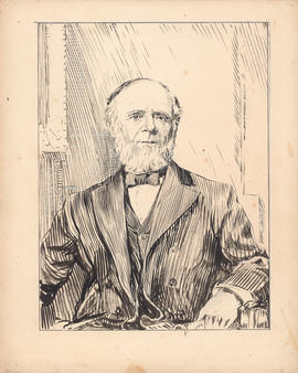 George Munro. The great benfactor of Dalhousie : [drawing]