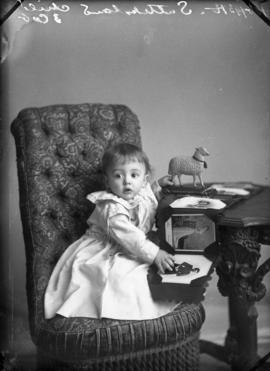 Photograph of H. Sutherland's baby