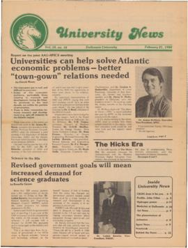 University News, Volume 10, Issue 18