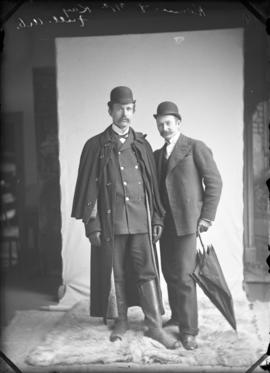Photograph of W. Rennie and Dr. McKay