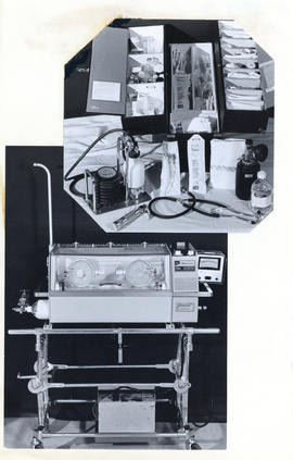 Photographs of Neonatology Unit equipment used for MeDal publication