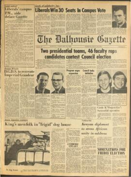 The Dalhousie Gazette, Volume 98, Issue 16