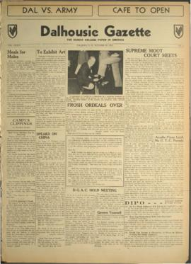Dalhousie Gazette, Volume 76, Issue 4