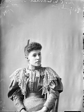 Photograph of Mrs. G. W. Waldren