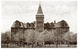 Postcard of Forrest Building (Law, Medicine, Dentistry)
