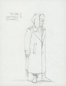 Costume design for the God #3