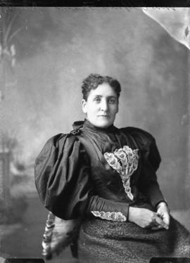 Photograph of Mrs. Alfred Fraser