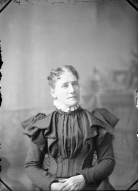 Photograph of Mrs. Cunningham