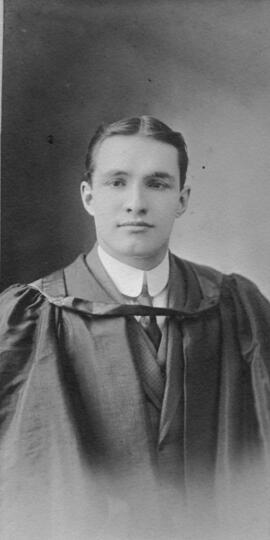 Photograph of Norman Chester Ralston : Class of 1910