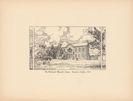 The Macdonald Memorial Library. Erected at Studley, 1914 : [print]