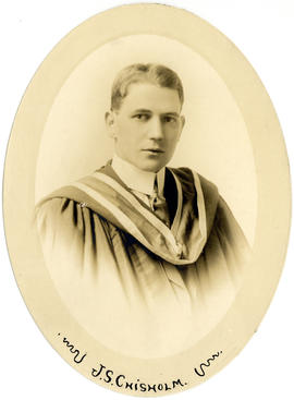 Portrait of James Stanley Chisholm : Class of 1915