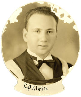 Portrait of Leonard Peter Klein : Class of 1939