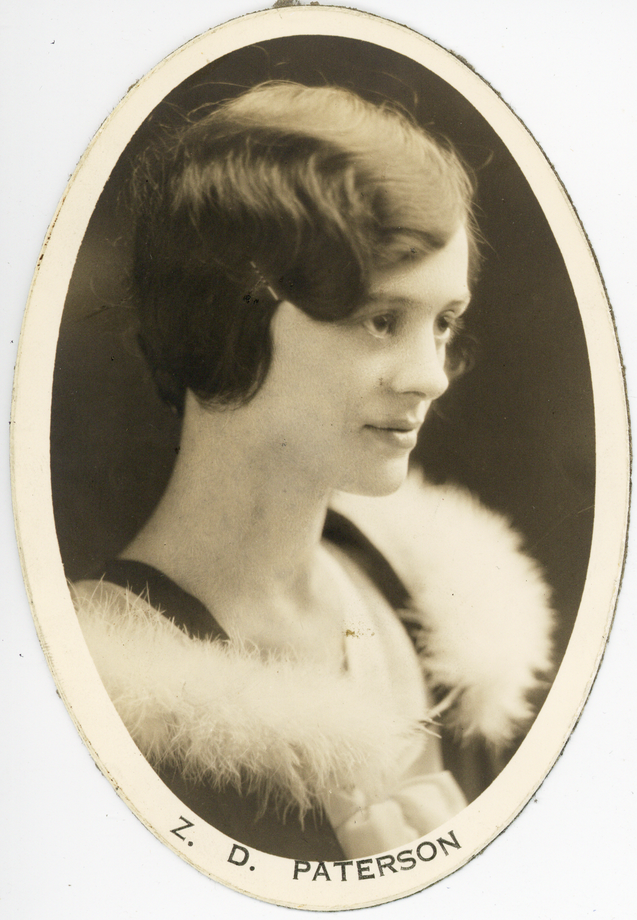 6c107462840 Photograph of Zoe Downing Paterson - Archives Catalogue and Online ...