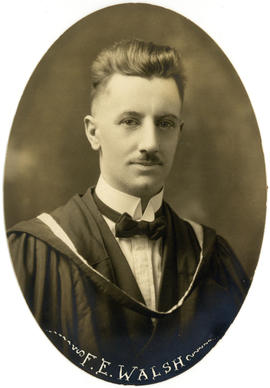 Portrait of F.E. Walsh : Class of 1922