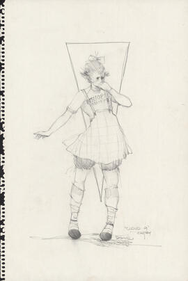 Costume design for Cathy