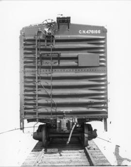 Photograph of an Eastern Car Co. Ltd. Box Car number C. N. 476166