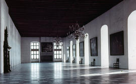 Photograph of the Banquet Hall in Kronborg Castle (Slot)