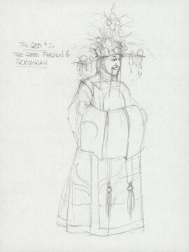 Costume design for the God #2
