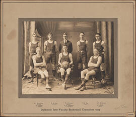 Photograph of Dalhousie Inter-Faculty Basketball Champions 1924