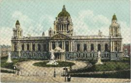 Postcard of the City Hall, Belfast