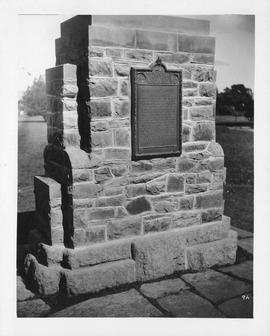 Photograph of the Halifax and Castine monument
