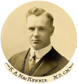 Portrait of Kenneth Alexander MacKenzie