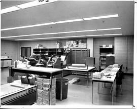 Photograph of the printing centre in the Killam Memorial Library