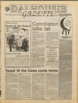 Dalhousie Gazette, Volume 123, Issue 3