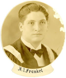 Portrait of Alfred Israel Frankel : Class of 1939
