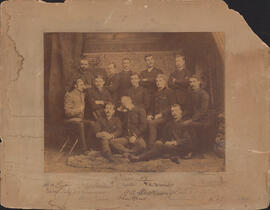 Photograph of Faculty of Law class of 1887
