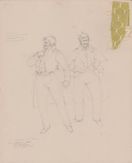 Costume design for Dobbin and Bobbin