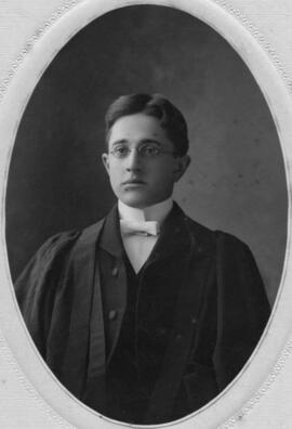 Photograph of Edward Wilbur Nichols : Class of 1906