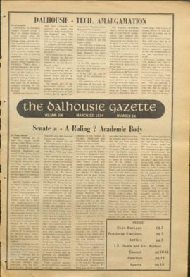 The Dalhousie Gazette, Volume 106, Issue 24