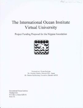 Project proposal for the International Ocean Institute Virtual University