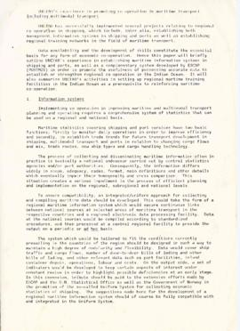 Correspondence between Elisabeth Mann Borgese and the UN Conference on Trade and Development (UNC...
