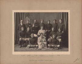 Photograph of Dalhousie Second Team - 1902 - Football